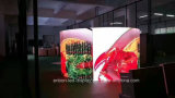 適用範囲が広いLEDのビデオ壁によって曲げられる表示屋外の屋内P4.81 P5.95 P6.25