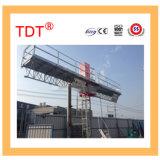 Piattaforma di lavoro rampicante dell'albero gemellare dell'OEM di Tdt