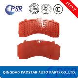 BPW Plaquette de frein à disque de la plaque arrière en acier avec le meilleur prix