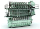 Motor diesel del Hombre-B&W