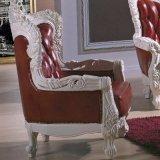 居間の家具(511D)のための標準的な革ソファー