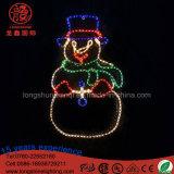 Schneemann-Dekoration-Licht des Weihnachtenled für Straße