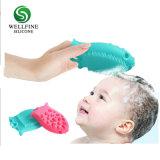 Силиконовый чехол с функцией массажа пищевой категории детского волосы щеткой