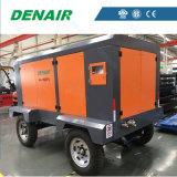 De elektrische Mobiele/Beweegbare/Draagbare Compressor van de Lucht van de Schroef van het Type