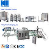 ミネラル飲料水のびん詰めにする機械工場