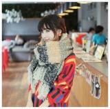 Écharpe chaude de cachemire de femmes d'écharpe de modèle de l'hiver doux d'écharpe