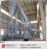 El polvo de yeso de la planta de fabricación de maquinaria en China
