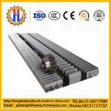 Crémaillère et vitesse de crémaillère de pignon faite d'acier de raffinage thermique pour l'élévateur de construction