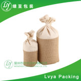 Customized Eco-Friend Cotton Canvas Promotional Rice Bag, Drawstring Wheat Bag and Crop Bag