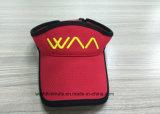Sombrero micro del visera de la fibra, casquillo de encargo del visera del bordado con el borde negro