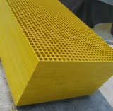ガラス繊維によって形成される格子か正方形の網38X38X38/FRP GRPの格子