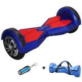 """8 """" 착색된 빛 스쿠터 Bluetooth 각자 균형을 잡는 스쿠터 지능적인 전기 Hoverboard 전기 스케이트보드 전기 스쿠터를 가진 2 바퀴 Hoverboard"""