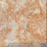 Rote Bodenbelag-voll polierte glasig-glänzende Porzellan-Fußboden-Fliese für Dekoration (600X600mm, VRP6D011)