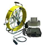 Cacerola dual de la cámara de Vicam 38m m cámara video del examen del tubo de alcantarilla de la rotación de 360 grados