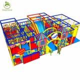 Замок Naughty детей игровая площадка для установки внутри помещений в коммерческих целях оборудования