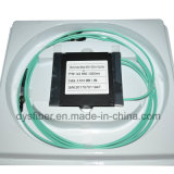 El CCTV 1X2 óptico vira el divisor óptico de fibra hacia el lado de babor con varios modos de funcionamiento del St