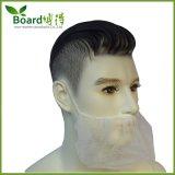 Mascherina non tessuta a gettare della barba con singolo elastico, coperchio della barba
