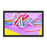 En la pared con pantalla táctil de 21,5'' LCD MONITOR SIN CERCO Publicidad