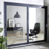 Portello scorrevole di profilo dell'edificio residenziale di vetro di alluminio di vetratura doppia