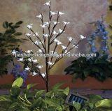 Árbol solar, árbol solar del LED, luz decorativa solar