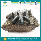 Прокладка вставки зубила карбида вольфрама высокого качества плоская для Drilling утеса
