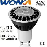 CREE LED Dimmable GU10 Birnen-Umbau-Scheinwerfer für im Freienbeleuchtung