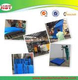 Soufflage de corps creux en plastique automatique de palette de HDPE faisant la machine
