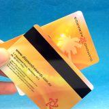 Smart Card di plastica del sistema RFID di lealtà con la striscia di Magnatic