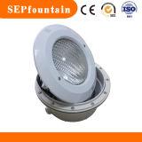 Cubierta de material ABS de alta potencia de tipo de pared LED impermeable 100% de la luz subacuática