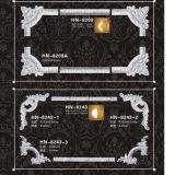 PU de moulures en couronne décoration murale coins en polyuréthane et les trames Hn-8208X
