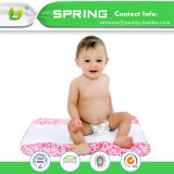 キルトにされたまぐさ桶のサイズの幼児のベッドのマットレスパッドのほんの少しを防水しなさい