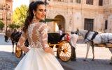 Амели скалистых 2018 с втулкой на линии Satin свадебные платья