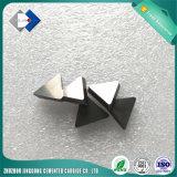 Piezas insertas indexables del carburo de Cemente (extremidades del triángulo)