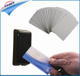 Carte d'ID en PVC blanc vierge version imprimable des cartes en plastique