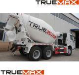 camion della betoniera 3-12cbm, miscelatore di cemento, miscelatore di transito