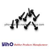 NBR/SBR/EPDM/silicone/FKM/Viton fabricant de mémoire tampon en caoutchouc gris