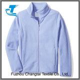 Las muchachas durables Lleno-Relampagan la chaqueta polar del paño grueso y suave