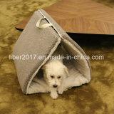 Haustier-Hundezubehör-Hundehütte-kleines Katze-Bett-Zelt