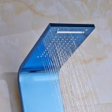 Panneau fixé au mur de douche de Bath de salle de bains de Flg avec l'acier inoxydable