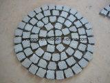 Подъездная дорожка из гранита вымощены булыжником/куб/куб асфальтирование камня / Найджелом Пэйвером камня в серый/черный/красный/желтый цвет для продажи