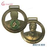 Médaille faite sur commande de sport de marathon en métal