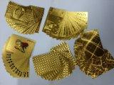 Карточки доллара США играя, карточки золота играя