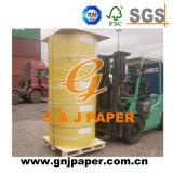 Nettoyer le papier autocopiant en roulis (papier de NCR, papier-copie sans carbone)
