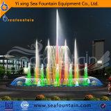 Вода в европейском стиле музыки и танца фонтан
