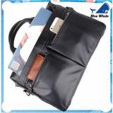 Cartella di cuoio degli uomini Bw265, sacchetto del computer portatile della cartella del sacchetto di spalla