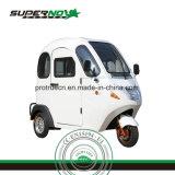 Elevadores eléctricos de aluguer de triciclo passageiro bom balanceamento de carga