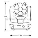 7X15W RGBW 4в1 Bee глаза на стену индикатор омывателя фар дальнего света алмазов Zoon перемещение головки блока цилиндров
