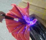 Diodo emissor de luz do OEM que anuncia o guarda-chuva com a lanterna elétrica da tocha do punho