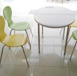 Самомоднейшие таблица и стул столовой