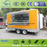 Alimento móvel comercial Van para hamburgueres
